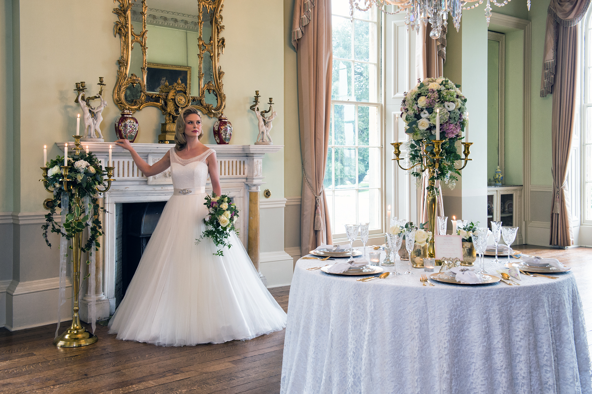 Bride at Prestwold Hall, Buckinghams Wedding Magazine