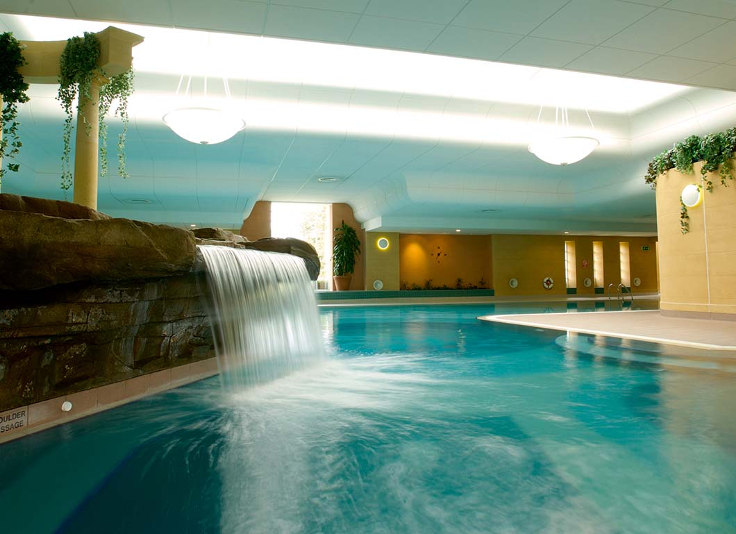 Main pool at Ragdale Hall, Leicestershire