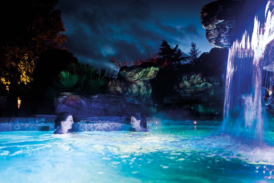 Waterfall Spa at Ragdale Hall, Leicestershire