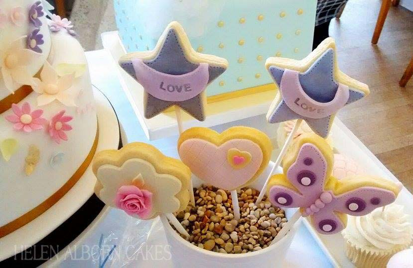 Wedding favours by Helen Alborn Cakes