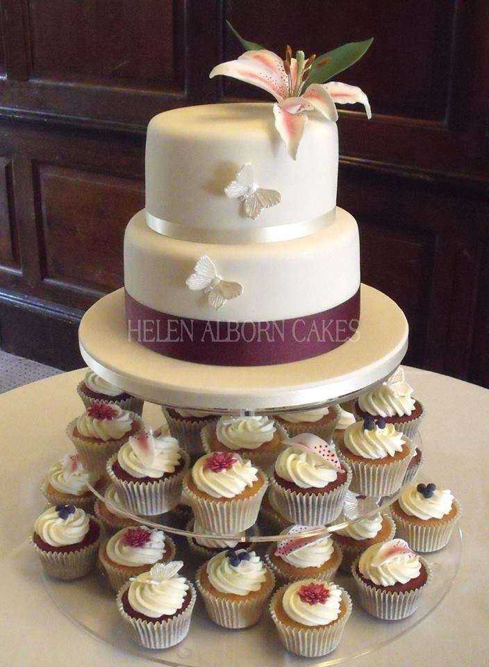 Lily Cake by Helen Alborn Cakes