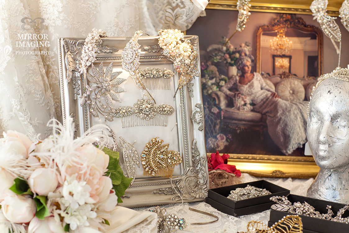 Accessories By Baroque Couture, Derby At The Prestwold Hall Wedding Fair