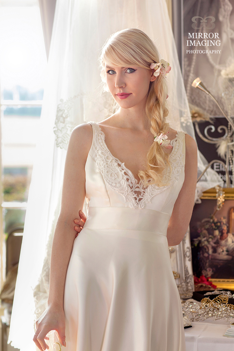 Baroque Couture wedding dress at the Prestwold Hall Wedding Fair