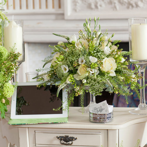 Wedding Flowers By Philippa, Leicestershire At The Prestwold Hall Wedding Fair