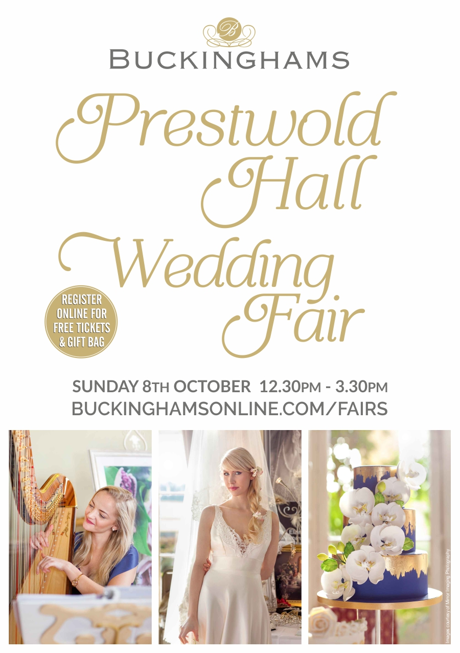 Wedding Fair At Prestwold Hall Leicestershire