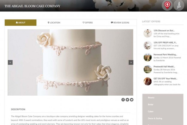Buckinghams Wedding Directory Listing