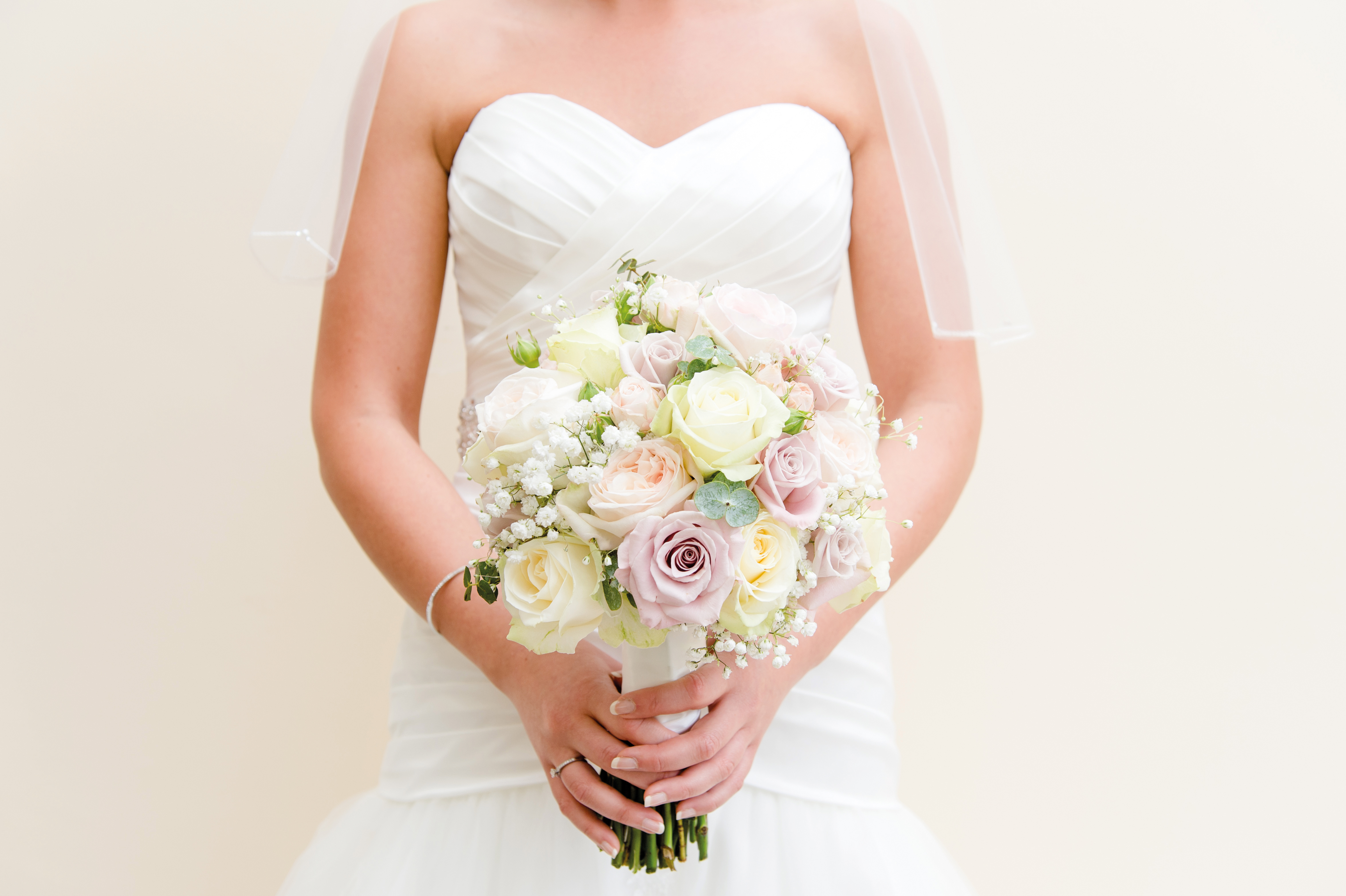 Bridal Bouquet, Zinc Floral Design Nottinghamshire