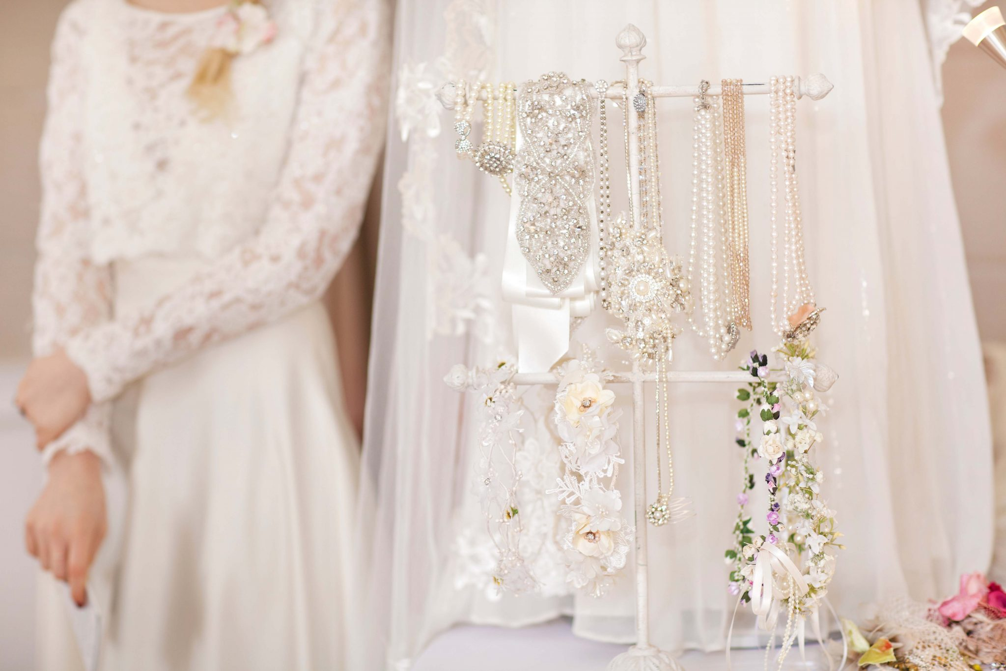 Couture Wedding Dress And Accessories