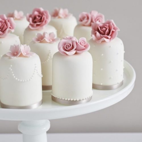 Ornate Mini Wedding Cake