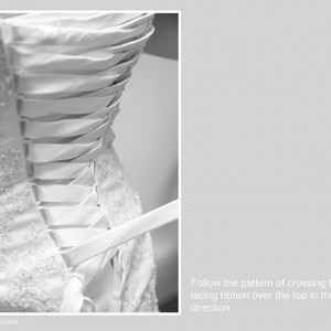 How To Lace A Wedding Dress