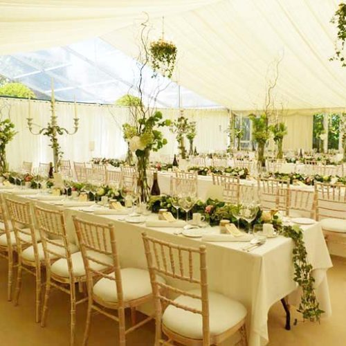 Marquee Wedding Flowers By Julia Dilworth Florals