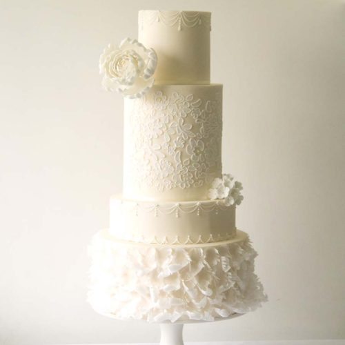 4 Tier Wedding Cake