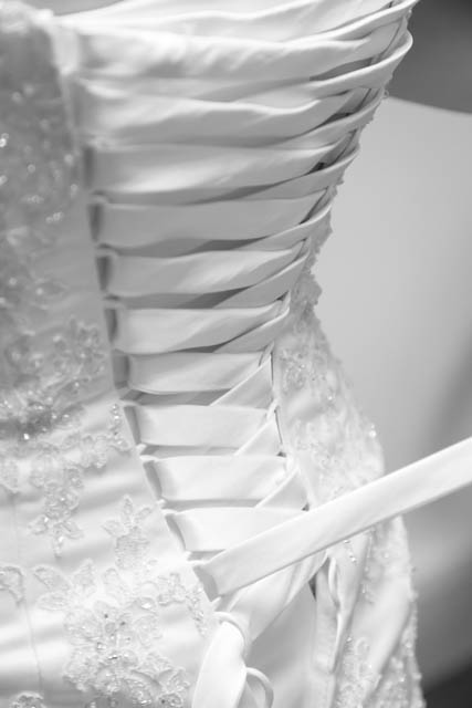 Tutorial - How To Lace A Wedding Dress - (c)Joanne Withers Photography