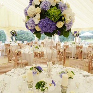 Large Vase Table Arrangement