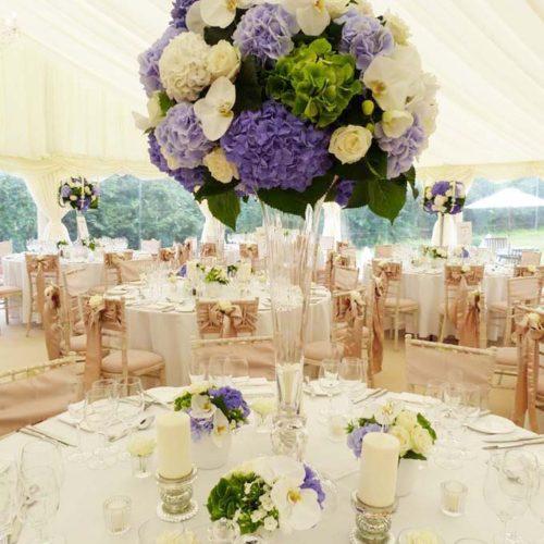 Large Vase Table Arrangement