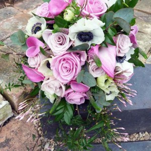 Pink Spring Handtied Bouquet By Julia Dilworth Florals