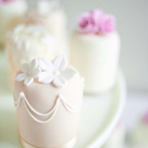 Elegant Iced Cupcake
