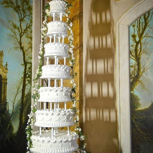 8 Tier Wedding Cake