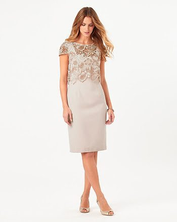 Juno Lace Dress By Phase Eight - £150