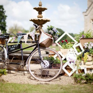 Vintage Props, Bunting And Bicycle Hire