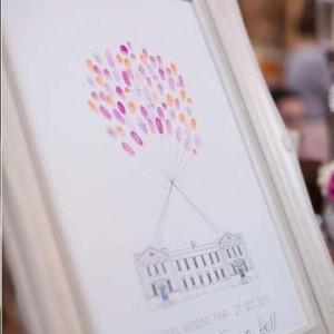 Fingerprint Guest Books