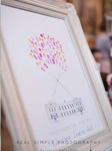 Fingerprint Guest Books