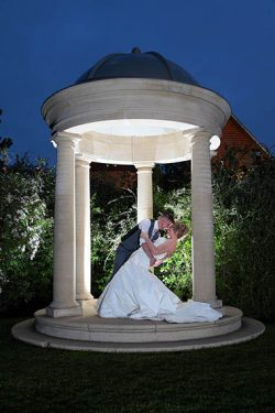 Bride & Groom Kiss ,Hector Photography