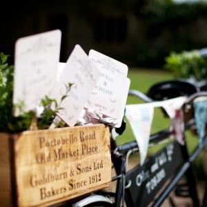 Vintage Butcher's Bike