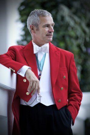 Geoff Harris, Toastmaster, Leicestershire