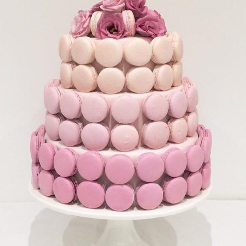 Macaron Cake By Victoria's Cake Company & Maison Des Macarons Leicestershire