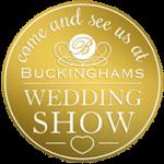 Buckinghams Wedding Show Button