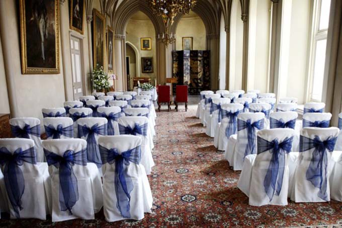 Belvoir Castle Ballroom Wedding Ceremony
