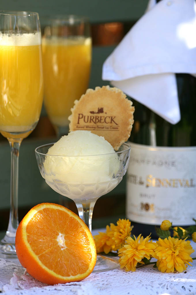 Purbeck ice cream, Bucks Fizz, Elite Candy Cart Company
