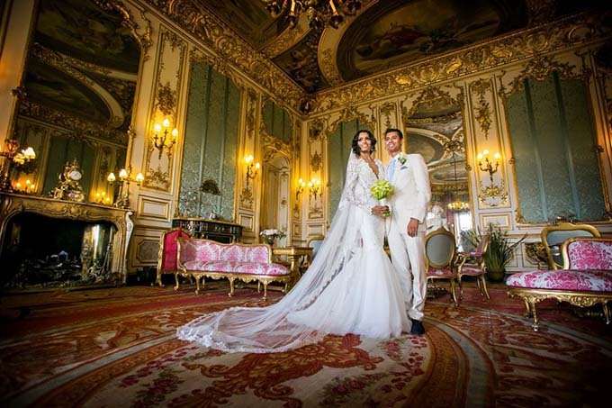 Belvoir Castle Weddings - Elizabeth Saloon