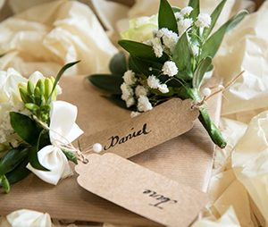 BUTTONHOLES, BRADGATE FLOWERS, LEICESTERSHIRE