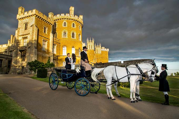Horse & Carriage - Weddings At Belvoir Castle