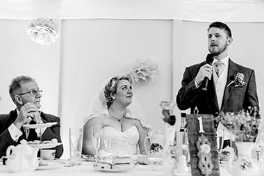 Speech, Elite Wedding DJs