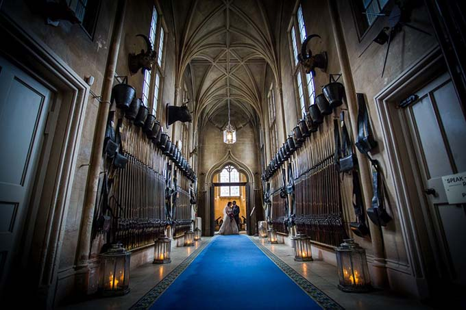 Guard Room - Wedding At Belvoir Castle