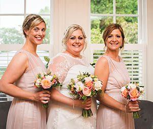 Bridesmaid Bouquet, Zinc Floral Design Nottinghamshire