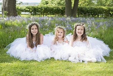 Bridesmaid Floral Headdress, Zinc Floral Design Nottinghamshire