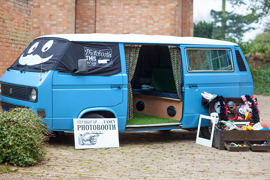Camper Van Photo Booth, Pure Photography Booths, Nottingham