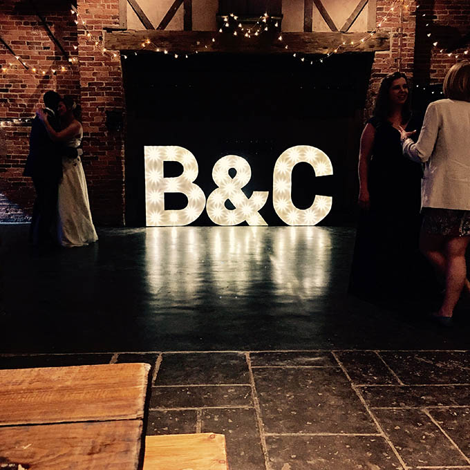 Illuminated letters, JMC Production UK