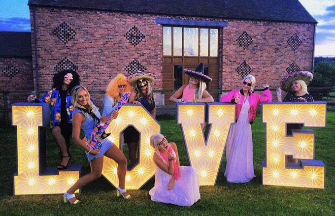 Illuminated Love Letters, JMC Production UK, Leicestershire