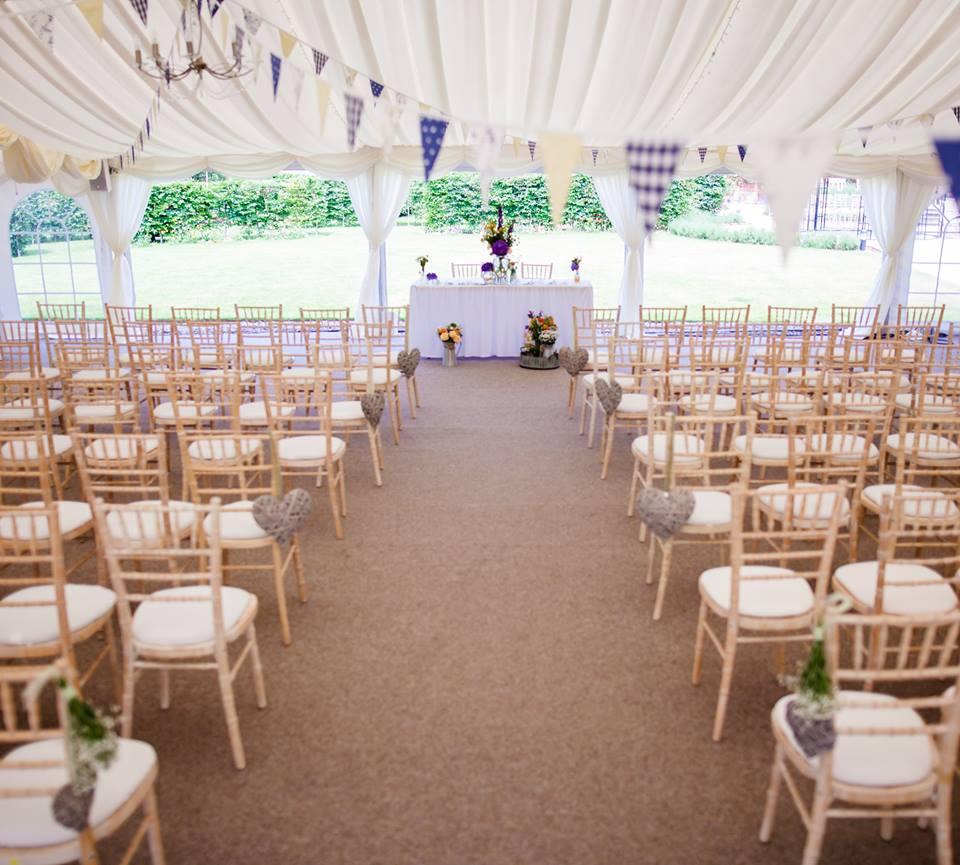 The Walled Garden At Beeston Fields - Nottingham Wedding Venue