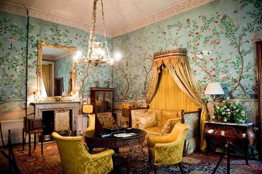 The Kings Suite At Belvoir Castle