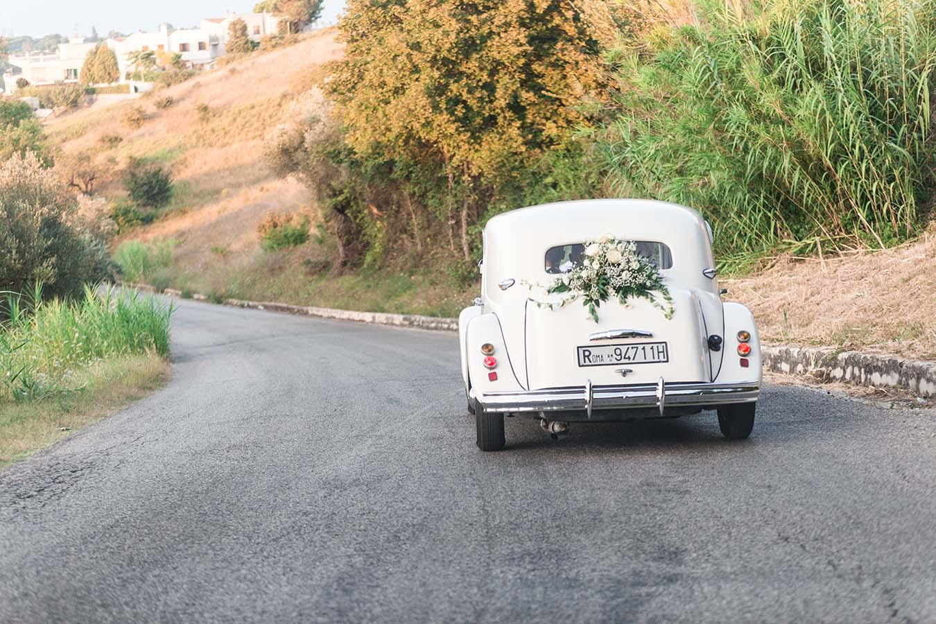 Wedding car in Abruzzo Italy
