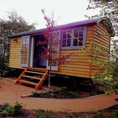 Shepherd Huts At The Carriage Hall Nottingham