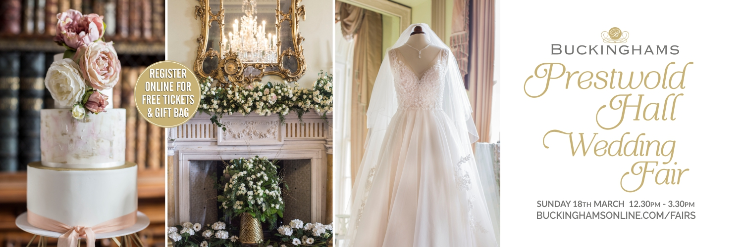 Prestwold Hall Wedding Fair