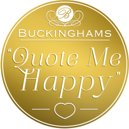Buckinghams Quote Me Happy Wedding Supplier Search