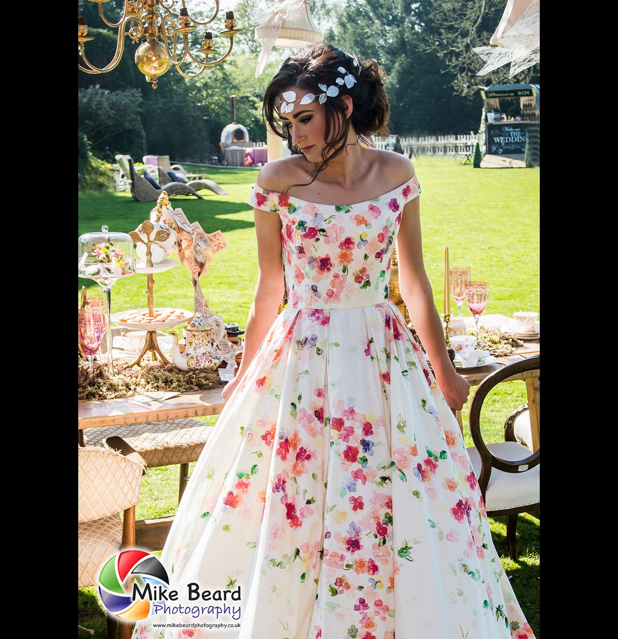 shade bridal nottingham english summer wedding style